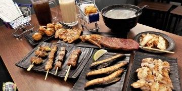 【台南-中西區美食】只要25元起就能享受的平價碳烤美食!海安路『灰燒掐創意炭烤』將手推車改造成燒烤美食的烤檯呢^^~