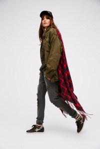Peace Out Military Shawl Jacket | Free People