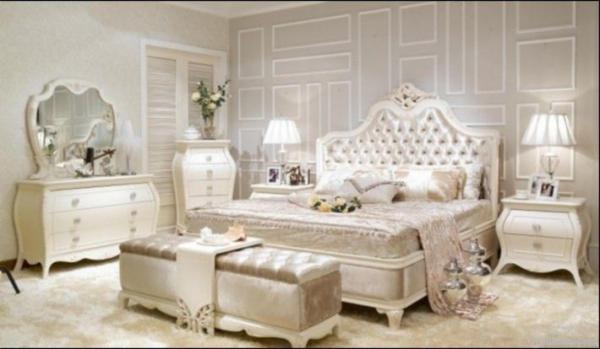 Set Kamar Mewah French Style Bedroom Images.