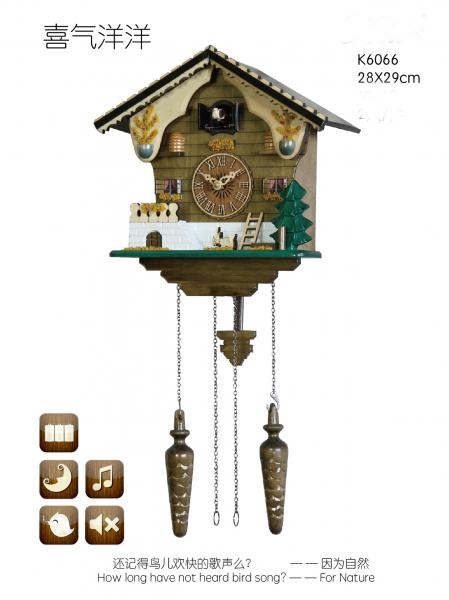 Affordable Cuckoo Clocks Bird Singing Clock Images
