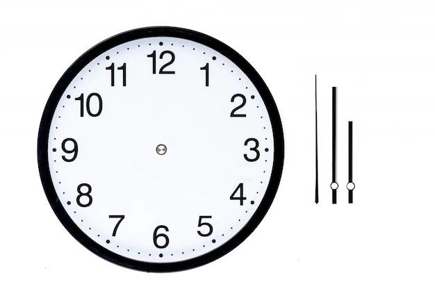 clock watch diagram