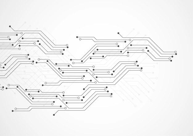 circuit board background vector ai graphics
