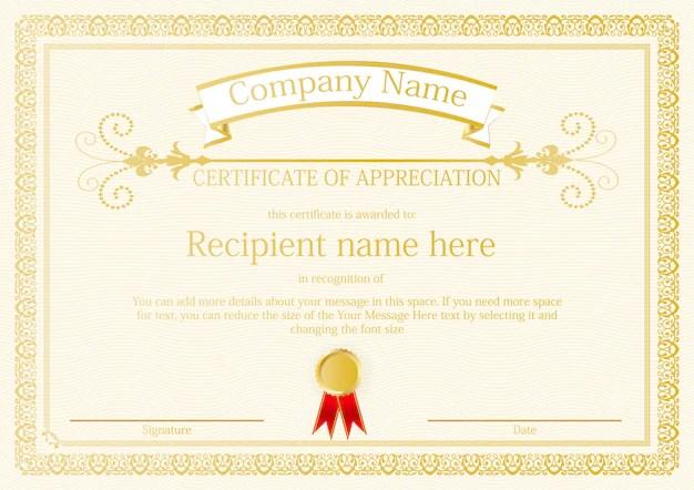 certificate border vector free - Alannoscrapleftbehind