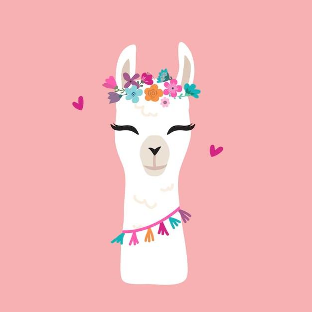 Happy Birthday Animated Wallpaper Llama Vectors Photos And Psd Files Free Download