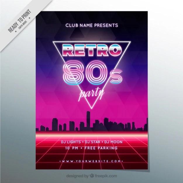 Retro Girl Wallpaper 80s Vectors Photos And Psd Files Free Download