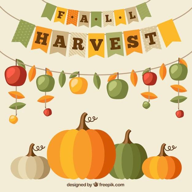 Fall Leaves Clip Art Wallpaper Pumpkin Vectors Photos And Psd Files Free Download