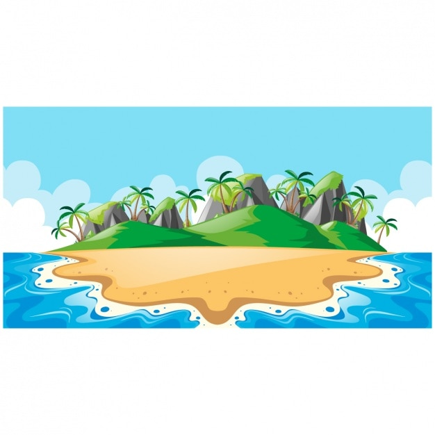 New 3d Animation Wallpaper Island Vectors Photos And Psd Files Free Download
