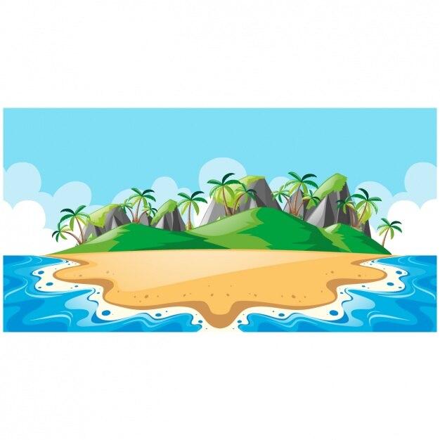 3d Animation Wallpaper Com Island Vectors Photos And Psd Files Free Download
