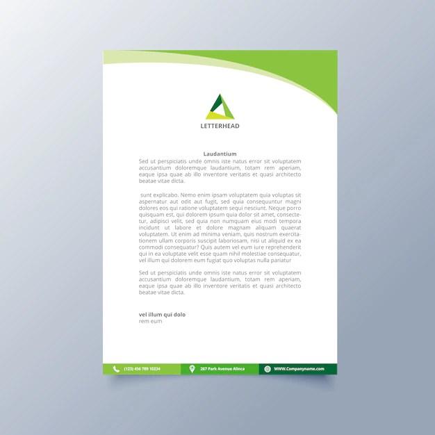 letterhead design templates - Boatjeremyeaton