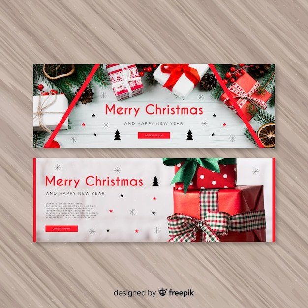 Free Merry christmas banner SVG DXF EPS PNG - House Vectors, Photos