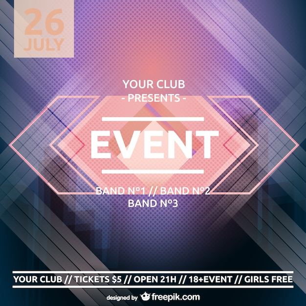 make event posters online free - Helomdigitalsite