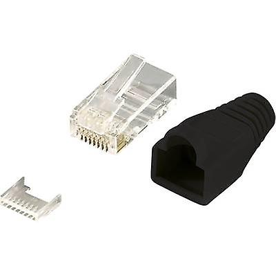 RJ45 Plug connector CAT 6, unshielded Plug, straight Number of pins