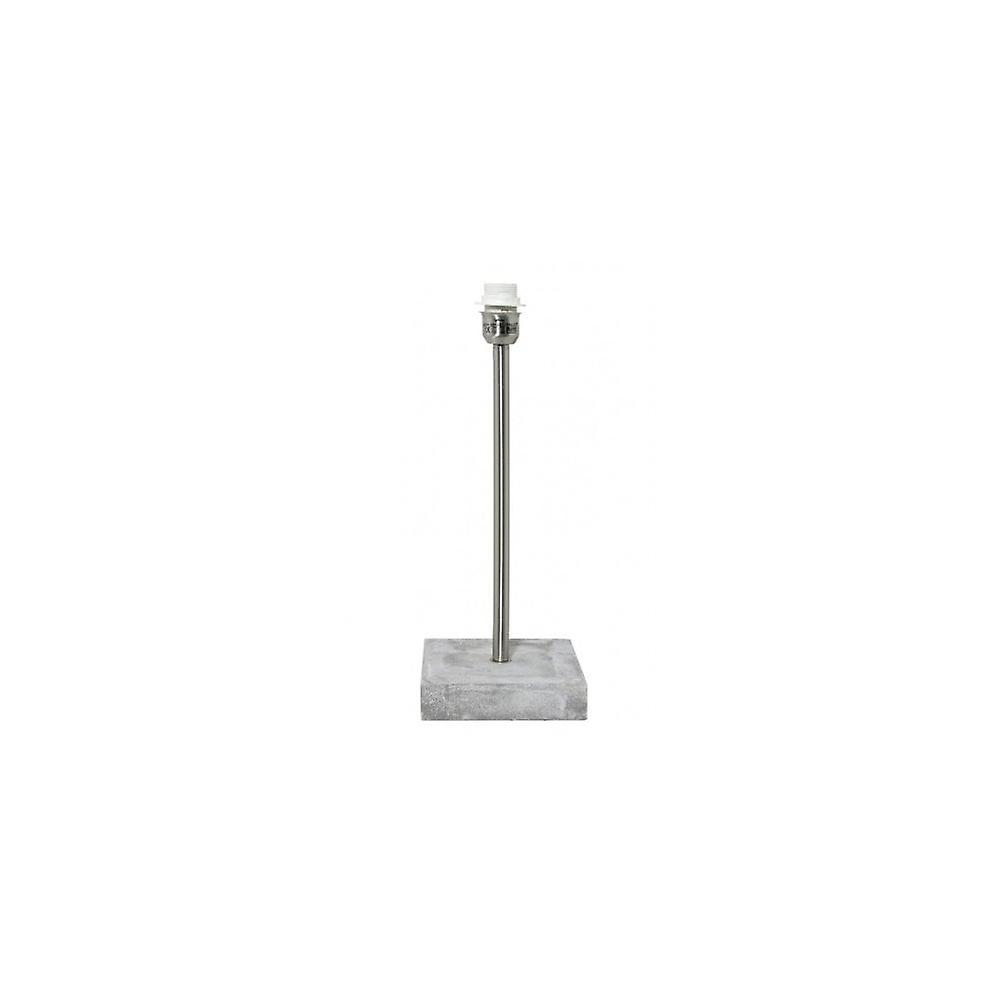 Lampen Bremen Light Living Lamp Base 18x18x46 Cm Bremen Concrete