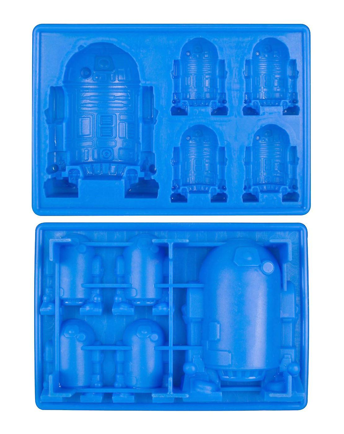 Star Wars Küchenhelfer Star Wars R2 D2 Ice Cube Trayblue