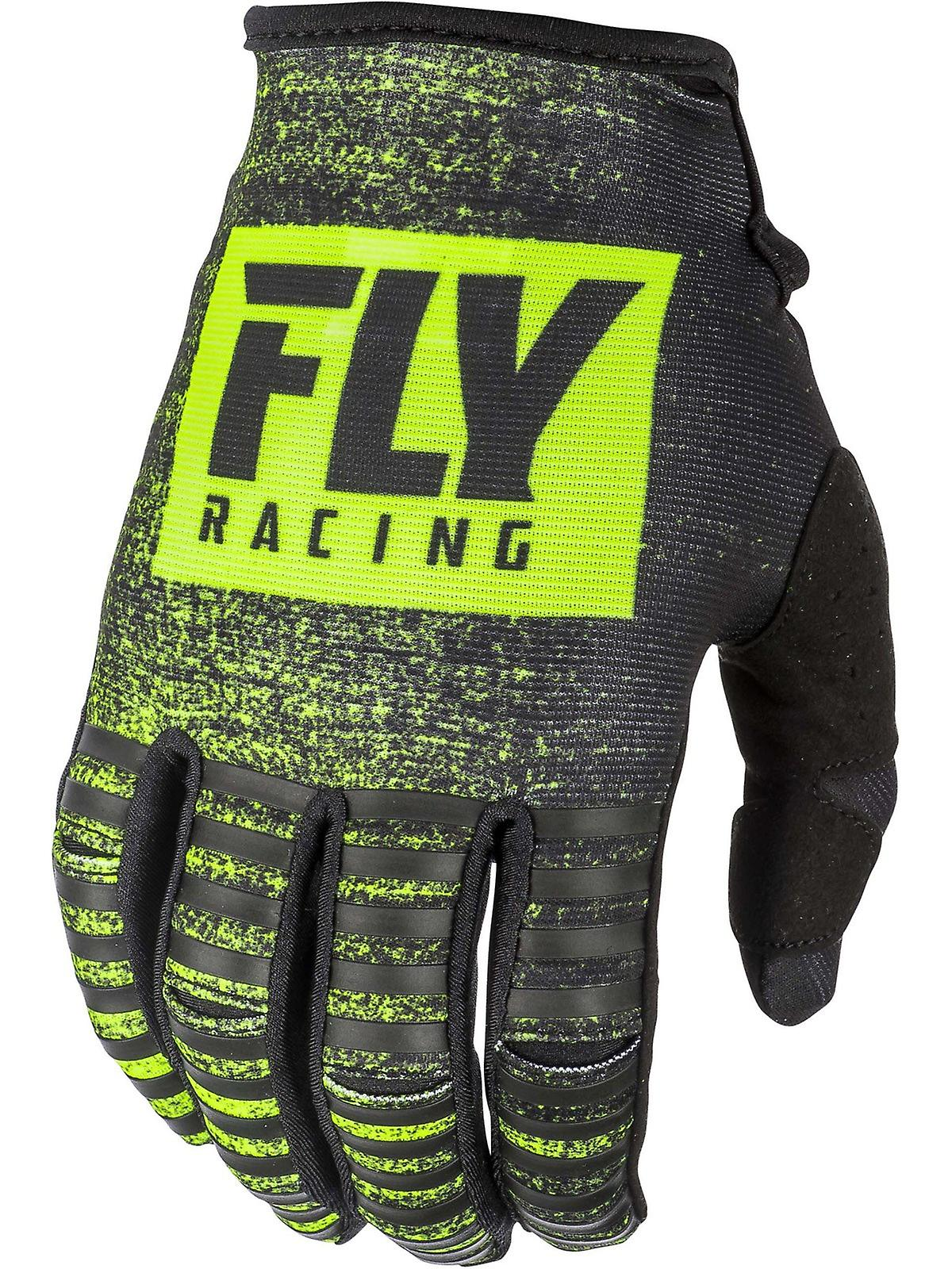Race Sillas Bebe 2019 Fly Racing Black Hi Vis 2019 Kinetic Noiz Mx Gloves