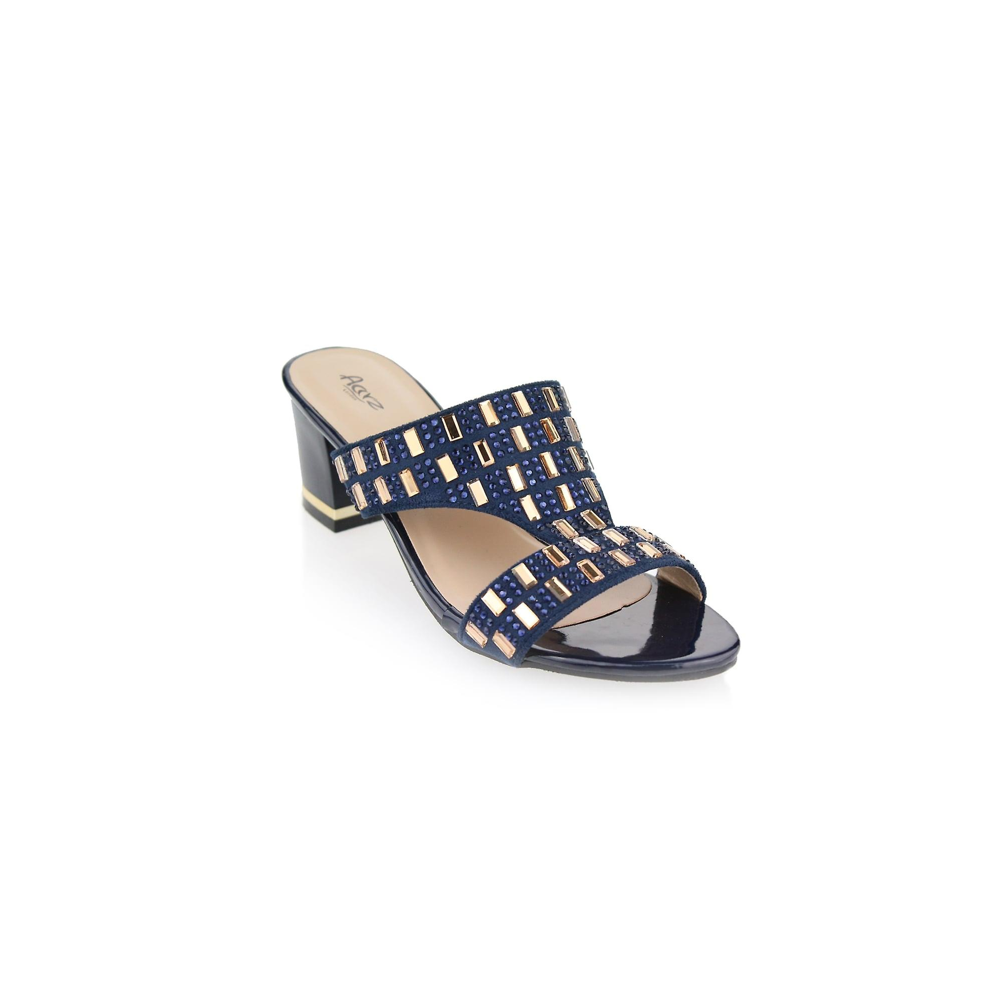 70 247 Aarz London Alyx Gems Studded Sandals