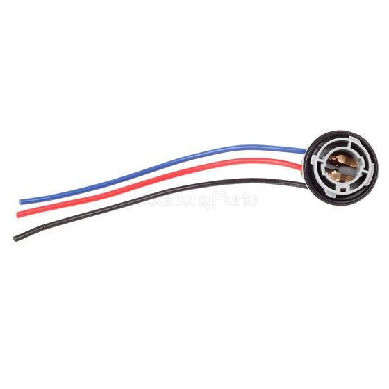 wiring socket for led signal light bulb socket brake turn signal light
