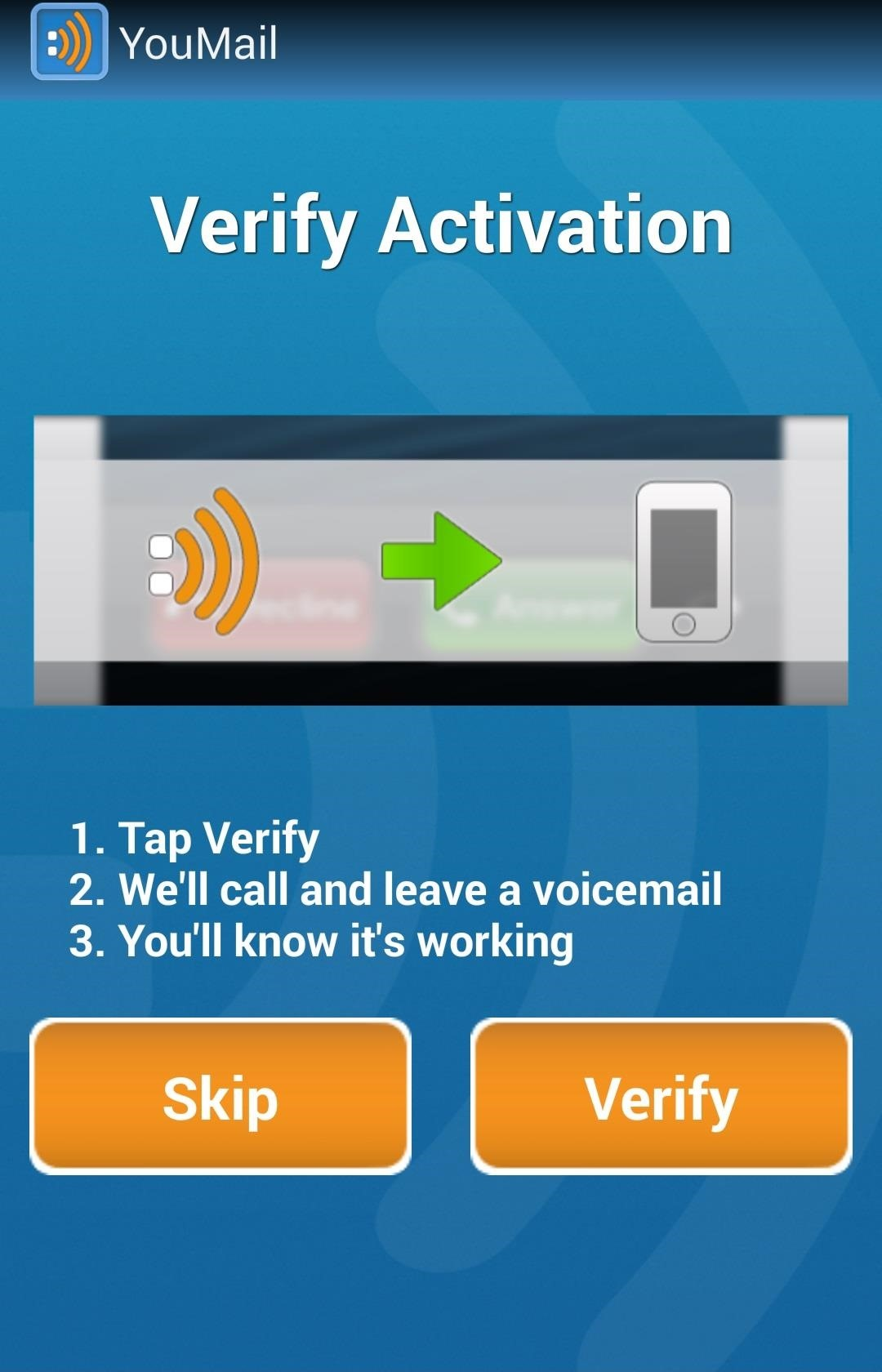 How To Set Up Voicemail Greeting Setting Up Youmail Visual Voicemail On  Your Device Ios_9_voicemail_sharing_iphone_screenshot_002 Delete Iphone  Favorites