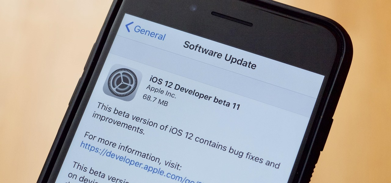 Apple\u0027s iOS 12 Developer Beta 11 Released for iPhone « iOS  iPhone - Developer