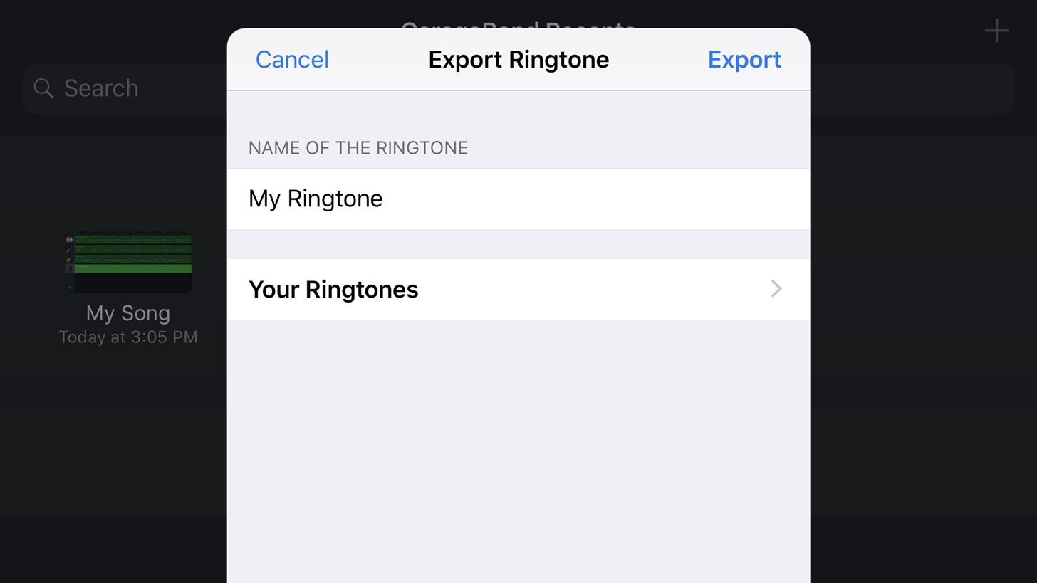 Garageband Fade In Garageband 101 How To Save Your Songs As Custom Iphone Ringtones