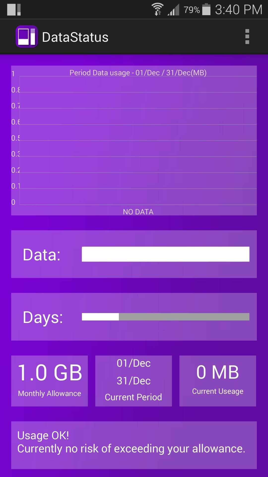 Bar Data Track Data Usage In Real Time With This Status Bar Meter For