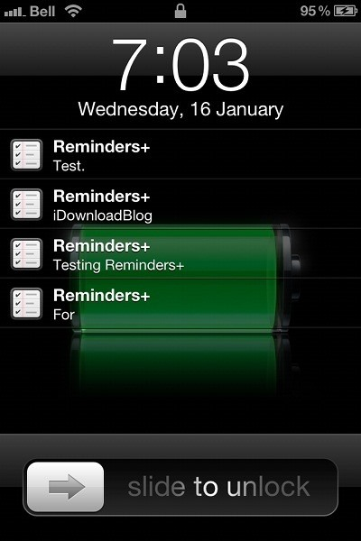 Apple Iphone 2g Wallpapers How To Pin Reminders To Your Iphone S Lock Screen So You