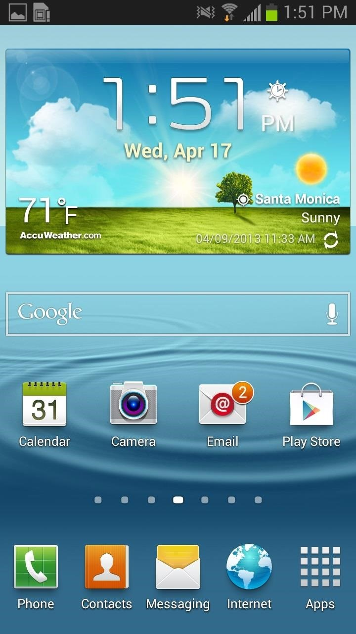 Samsung Screen How To Get Rounded Screen Corners On Your Samsung Galaxy S3 Or