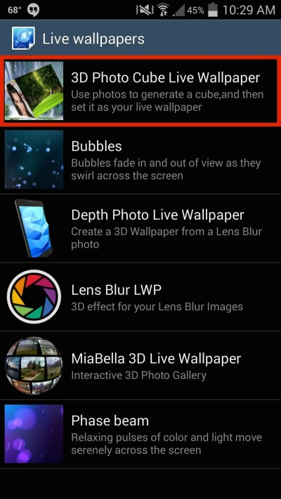 How to Create a Rotating 3D Cube Live Wallpaper on Your Galaxy S4 « Samsung GS4 :: Gadget Hacks