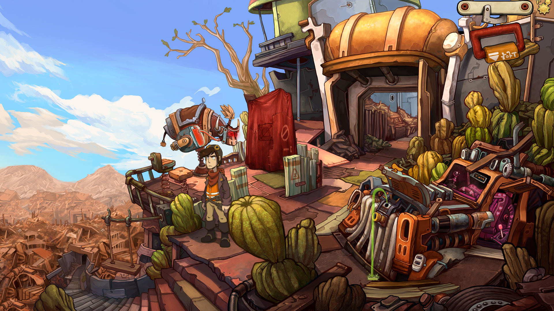 Wallpaper Monster Inc 3d Deponia Is The Biggest Pile Of Trash I Ve Ever Had The