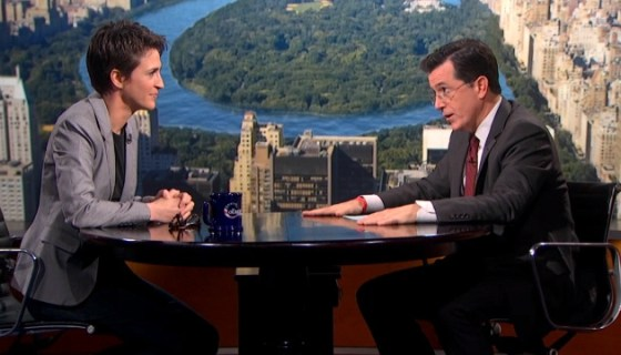 Rachel Maddow on The Colbert Report