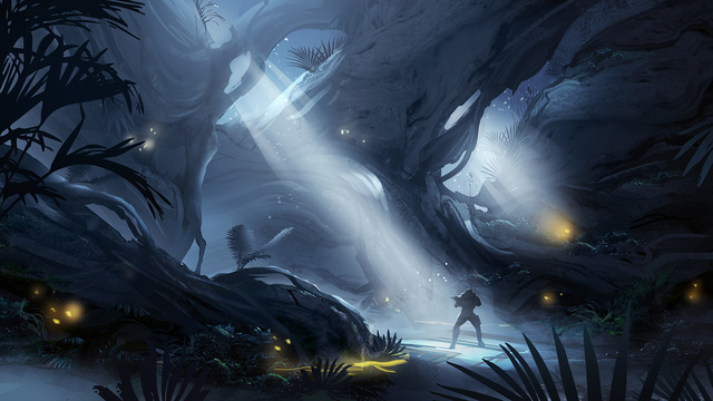 Killzone Shadow Fall Full Hd Wallpaper Fine Art Concept Art Goes From Halo 4 To Guild Wars 2 And