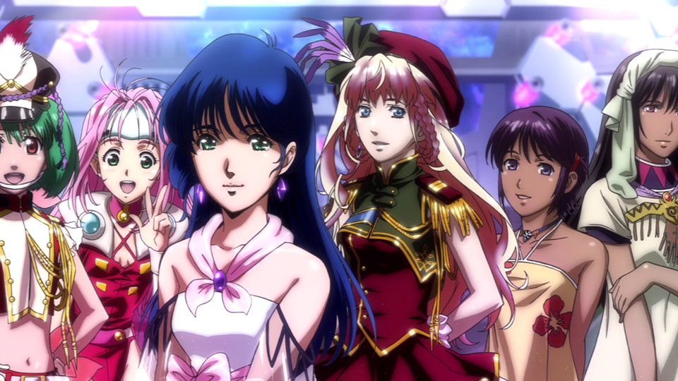 Pretty Girl Cartoon Wallpaper Macross 30 Is The Best Macross Game Ever Made Kotaku