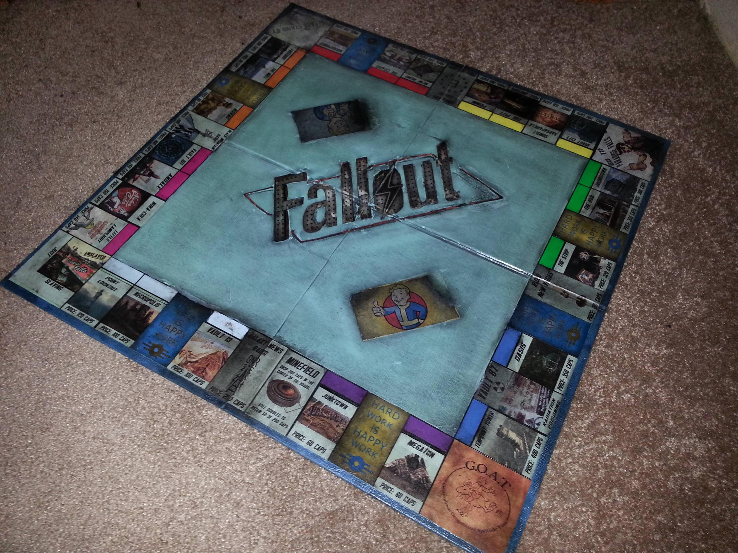 Handcrafted Games How Sweet This Husband Gave His Wife A Handmade Fallout