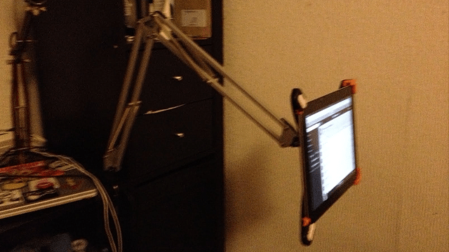 Turn An Ikea Lamp Into A Multi Positional Ipad Holder