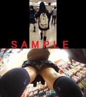 【股下何cm!?Part30】4Kカメラ撮影(6)黒髪ロング清楚系のJ★Kちゃん、怪しまれながらも撮影成功!!
