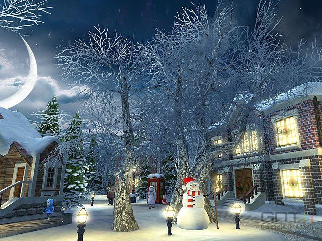 Falling Snow Live Wallpaper Tutorial Snow Village 3d Screen 3