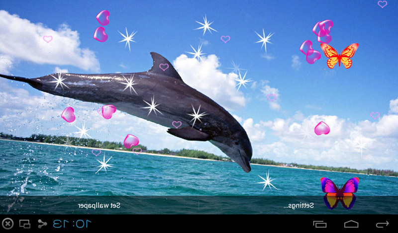 Best 3d Live Wallpaper Android 2015 Free 3d Dolphin Live Wallpapers Apk Download For Android
