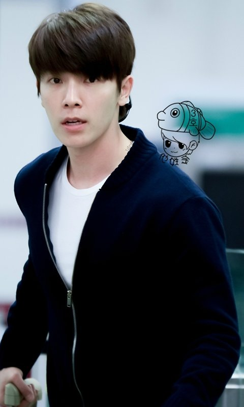 Cute Iphone Wallpaper App Free Super Junior Lee Donghae Cute Wallpaper Apk Download