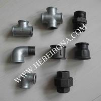 Cheap Galvanized and black malleable iron pipe fittings of ...