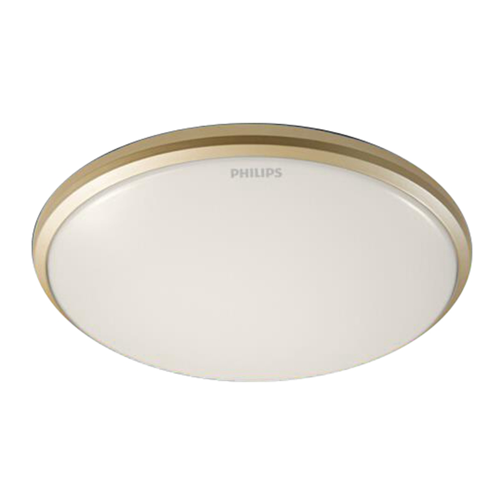Philips Led Ceiling Light 12w 2700k Gold