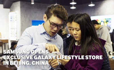 Samsung Opens Exclusive Galaxy Lifestyle Store in Beijing ...