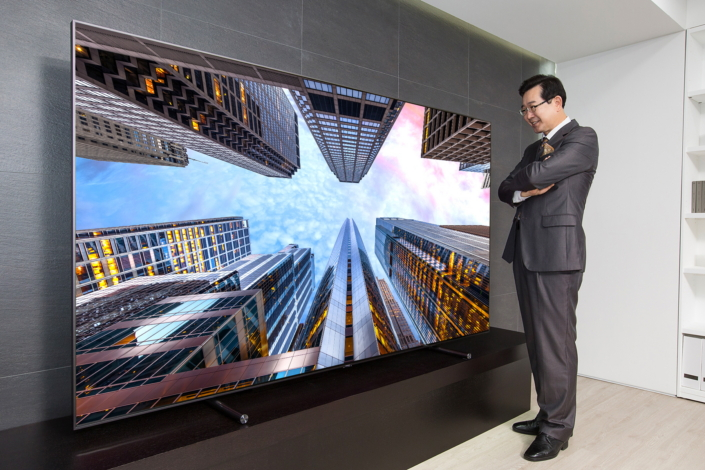 Tv 65 Pouces Samsung Samsung Electronics Launches 88-inch Ultra-large Qled Tv