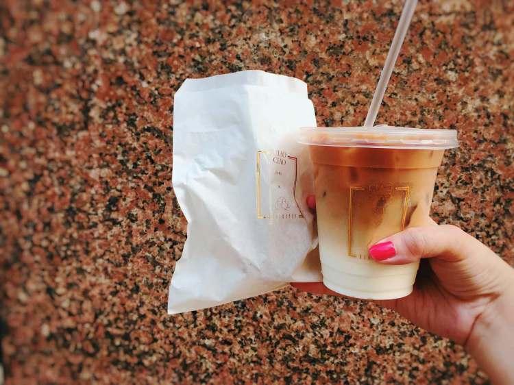 台北東區咖啡司康 》悄悄黑眼圈 Coffee and Scone   珍珠糖司康