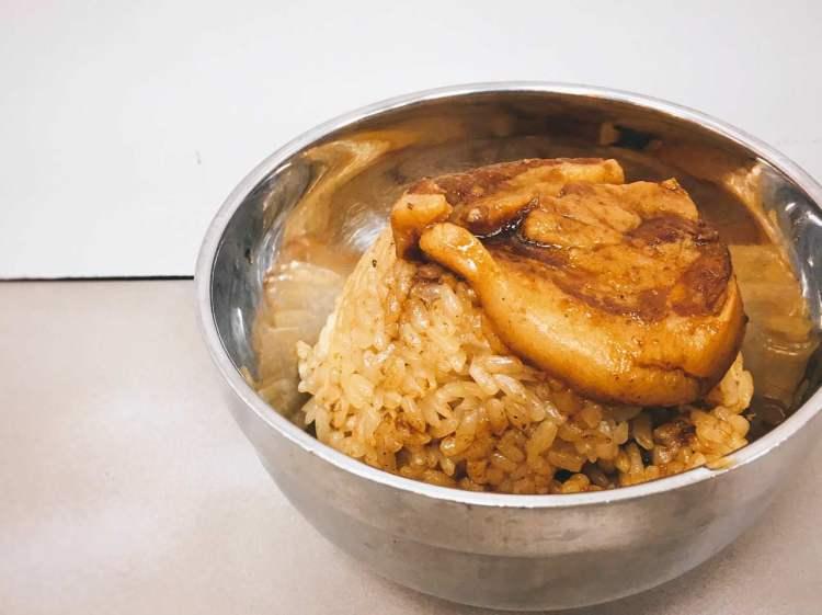 大橋頭筒仔米糕 》大稻埕美食    Steamed Sticky Rice