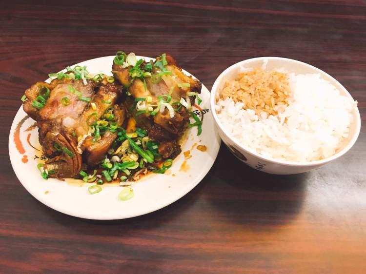 老牌張豬腳飯 》大稻埕美食 |  Taiwanese Pork Knuckle
