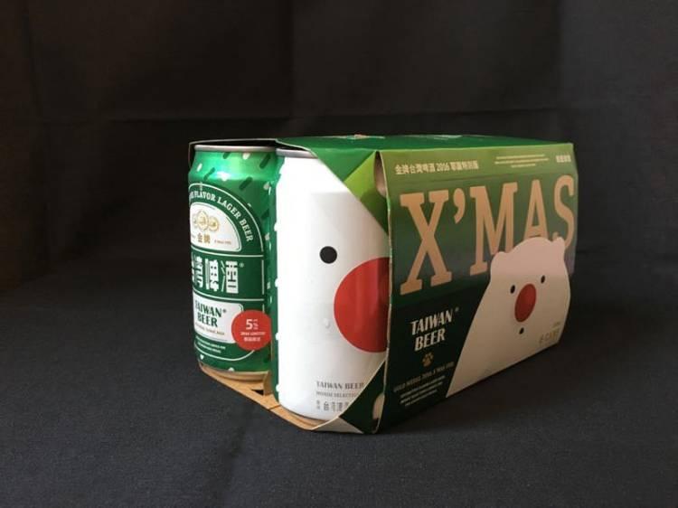 【金牌台灣啤酒聖誕限定罐 】Gold Medal Taiwan Beer Christmas Limited Edition