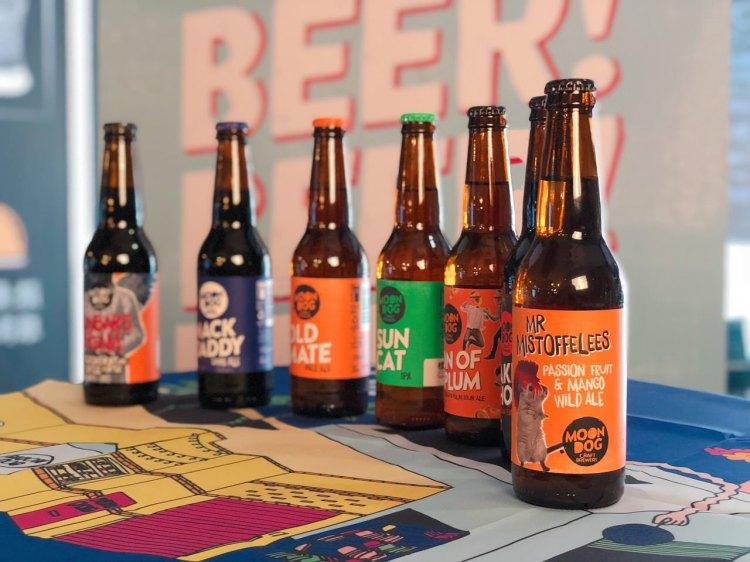 MOON DOG BEER 》澳洲精釀啤酒 Australian Beer  | 羅勒國際實業有限公司