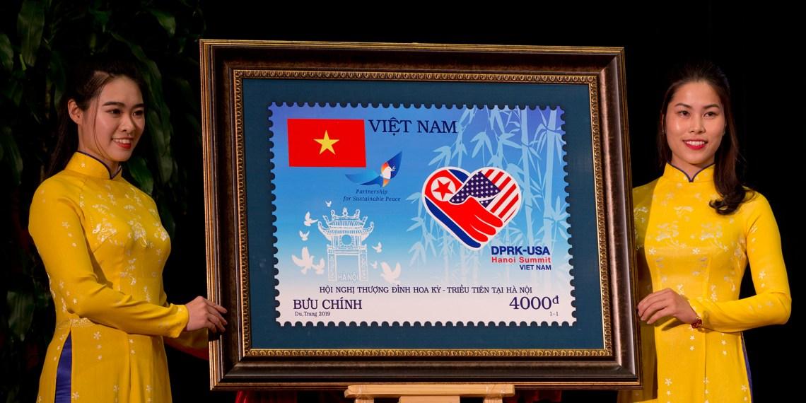 慶祝重要國際大事 越南發行川金二會紀念郵票
