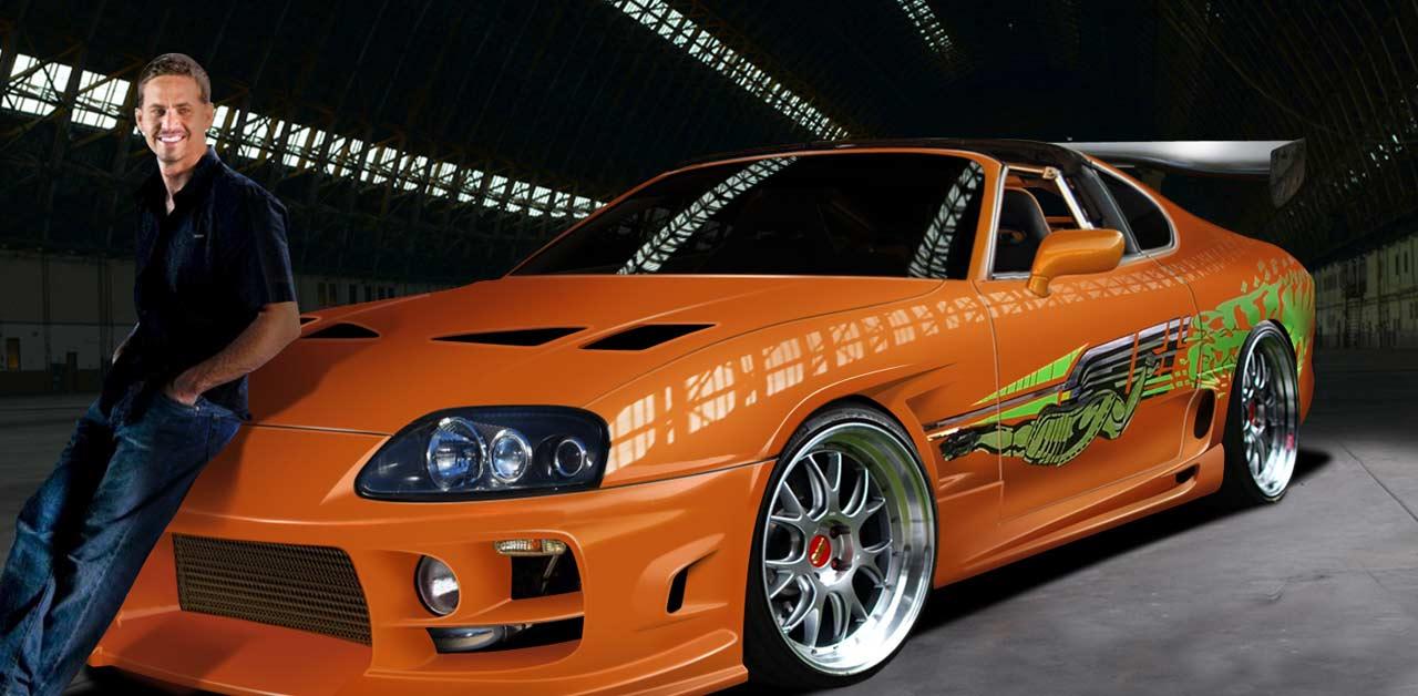 Wallpaper Mobil Sport Hd All Asta La Supra Di Fast And Furious Guidata Da Paul