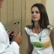 【エロいたずら】聴診器から喘ぎ声が聞こえてくるいたずらw